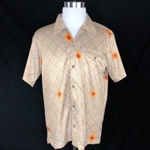 Patagonia men's short sleeve button up shirt